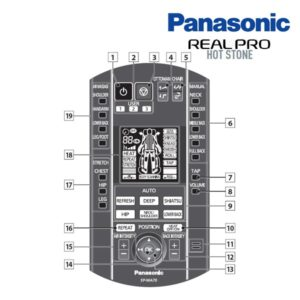 Fauteuil de massage Panasonic EP-MA70 16