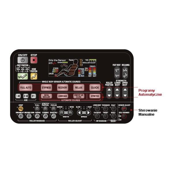 Fauteuil de massage Panasonic EP-MA58 EXPO 5