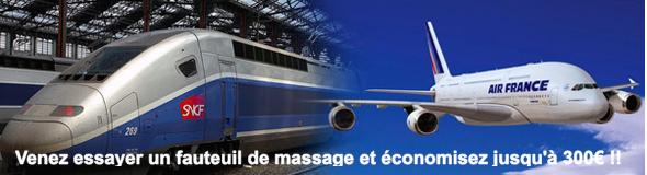 Venez essayer un fauteuil de massage et économisez jusqu'à 300€ !! 2