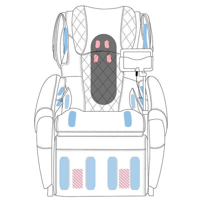 Fauteuil de massage AT 6020 15