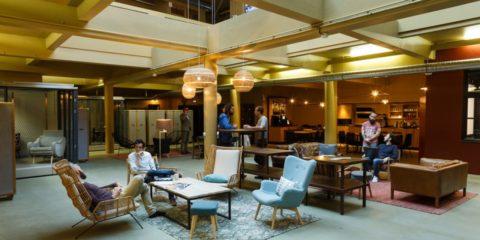 Le fauteuil massant, indispensable aux nouveaux espaces de coworking ?