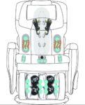 Fauteuil de massage Alpha techno AT699i ZeroG 15