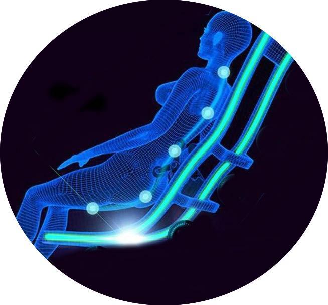 Fauteuil massant Positive Posture Brio Sport Zero G expo 27