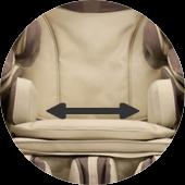 Fauteuil de massage Inada Sogno Dreamwave occasion 33