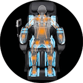 Panasonic EP-MA70 41 massage chair