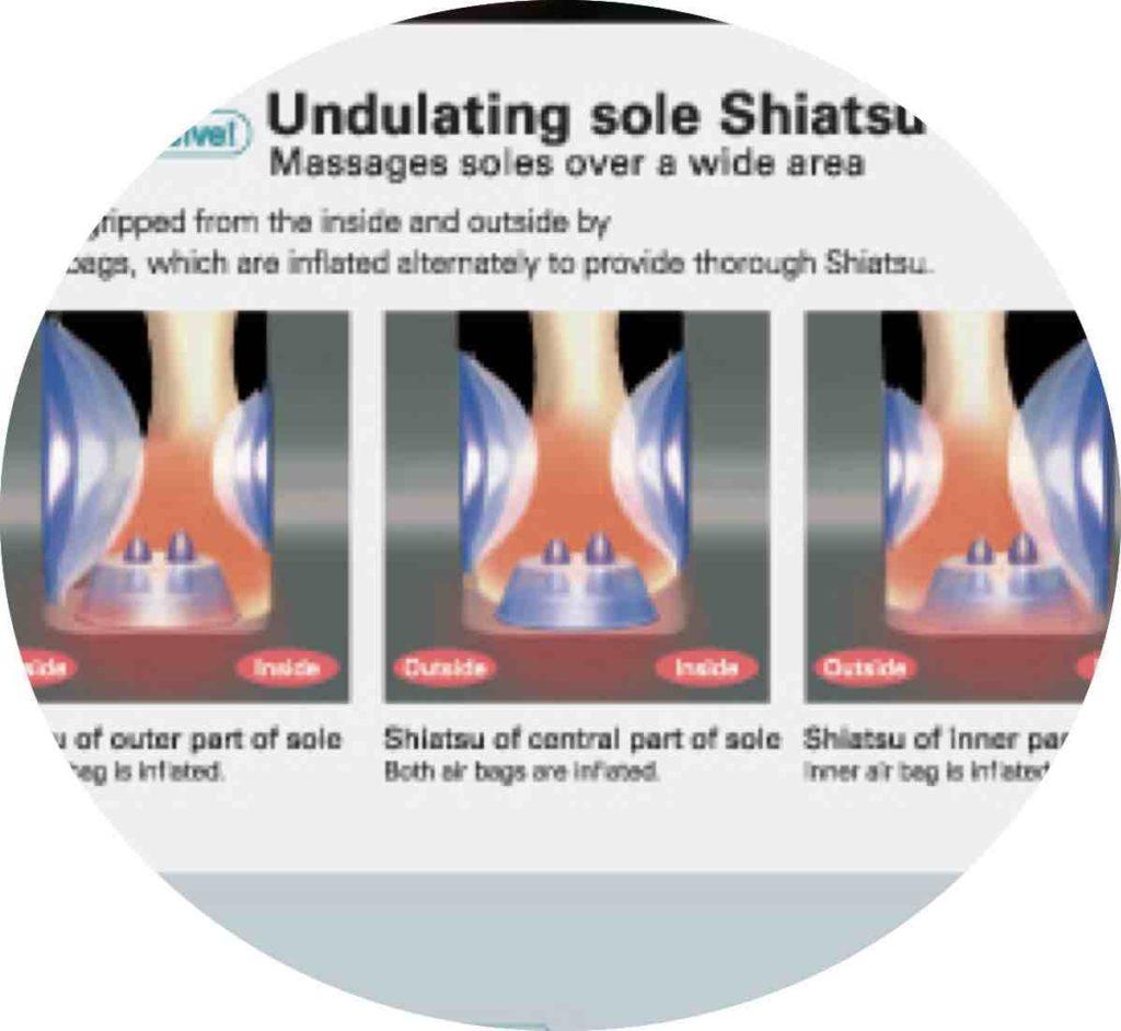 Fauteuil de Massage Sanyo DR7700 ZéroG 33
