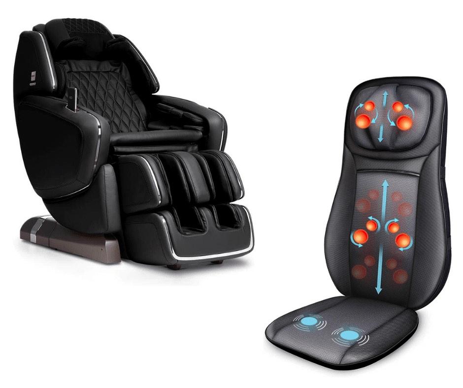 Quelle est la différence entre  un siège massant et un fauteuil massant ? 2