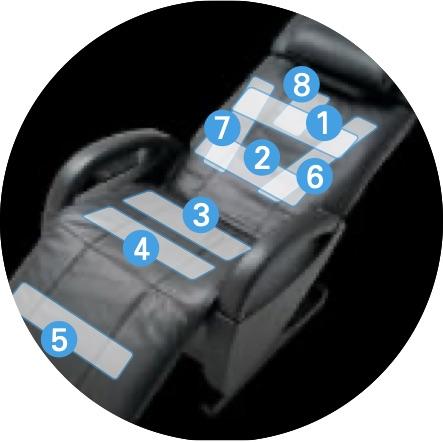 Fauteuil de massage AT FX2 ZeroG 26