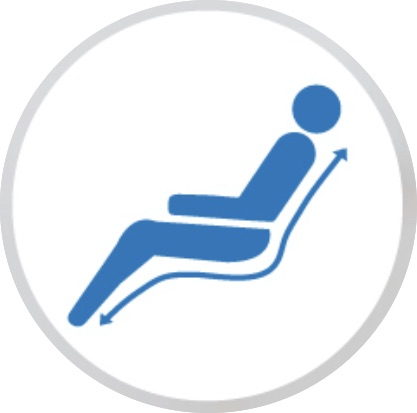 Fauteuil de fitness et circulation Vita Welness Chair ZéroG 27