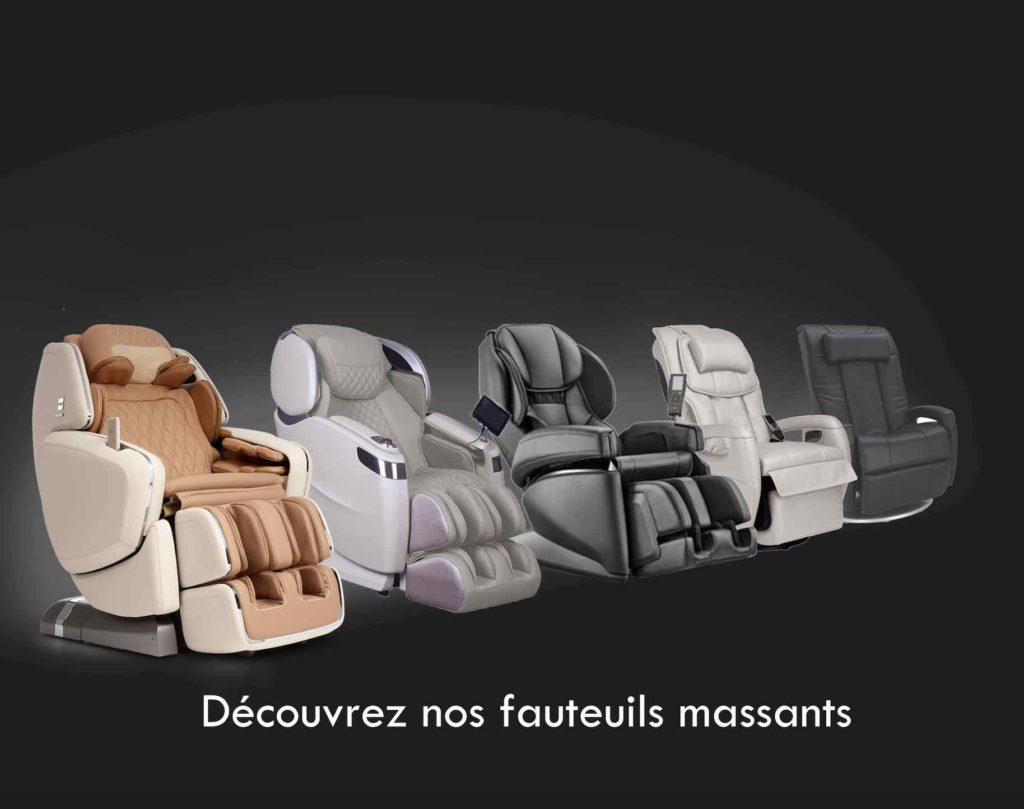 Fauteuil massant, Fauteuil de massage et Siège massant 1